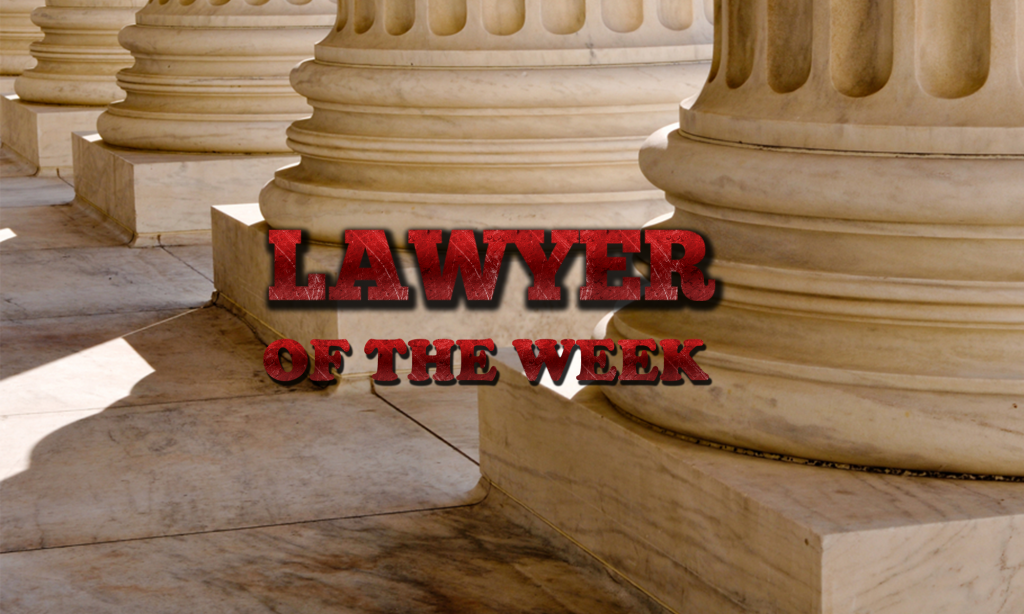 Lawyer of the Week – Episode # 1 – London